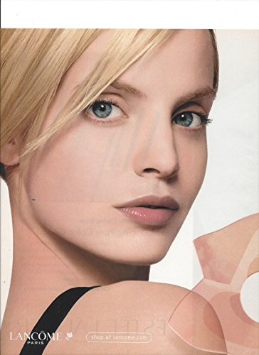 MAGAZINE PAPER ADVERTISEMENT With Mena Suvari 2003 - Mena Fashion