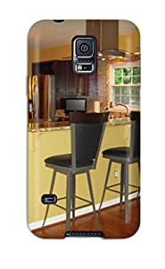 [eOqCzBJ4300XOWtX] - New Kitchen Counter With Bar Stools Separate Living Room From Cooking Area Protective Galaxy S5 Classic Hardshell Case