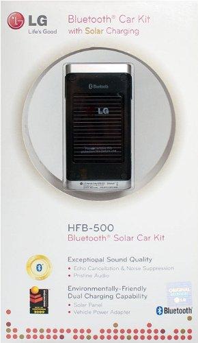 LG Solar-Powered Bluetooth Car Kit HFB-500