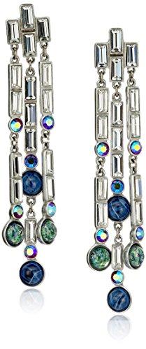 Ben-Amun Jewelry Eclipse Shooting Star Swarovski Crystal Drop Earrings by Ben-Amun Jewelry