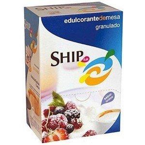 SACARINA SHIP, CAJA DISPENSADOR CON 500 SOBRES DE 1GR