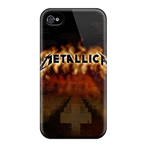 Protector Cell-phone Hard Cover For Iphone 6 With Unique Design Trendy Metallica Pictures JasonPelletier