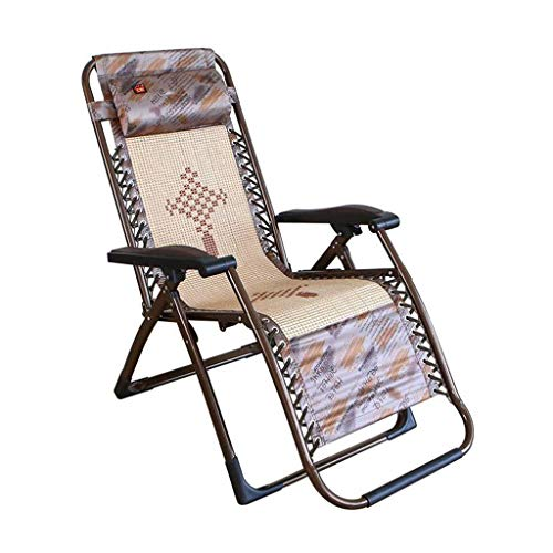 - YLCJ Folding Chair Reclinable Chairs Garden Loungers Sun Chairs Sagging Armchair Zero
