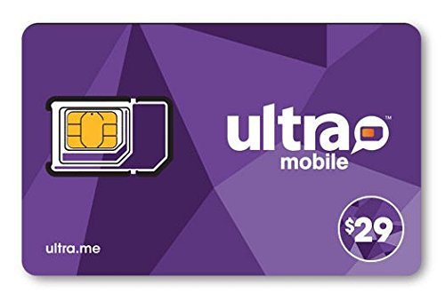 Ultra Mobile Triple Punch Orange Mini/Micro/Nano SIM Card - $29 ()