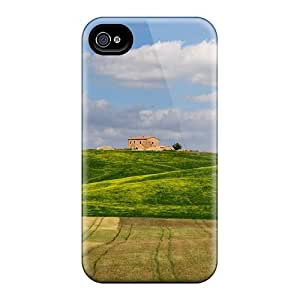 Hot Design Premium LTo17977Annh Cases Covers Iphone 6 Protection Cases(beautiful Fields On A Tuscan Farm)