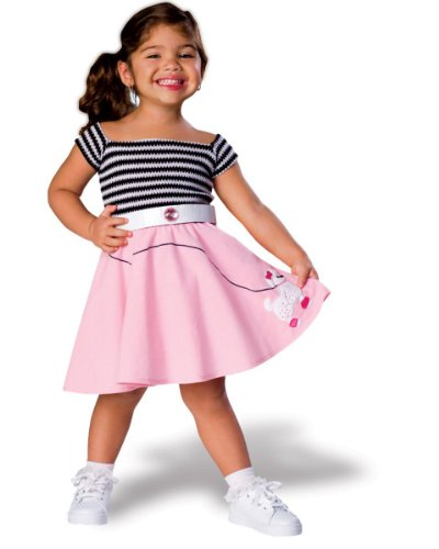 50s Girl Toddler Costume by Rubie's