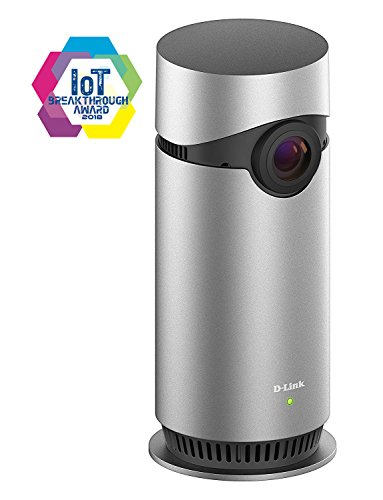 D-Link Indoor Home Security Camera Omna 180 Degree Cam, HD 1080P, Works with Apple HomeKit, Night Vision, 2 Way Audio, MicroSD Record (DSH-C310/AN)
