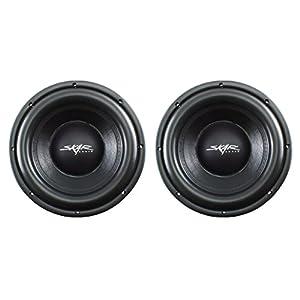 "(2) Skar Audio VD-10 D2 10"" 500W RMS Dual 2 Shallow Mount Subwoofer"