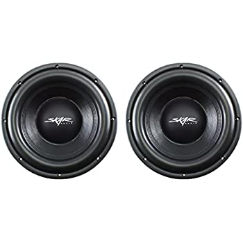 skar audio vd 10 d2 10 800w max power dual 2 ohm shallow mount car subwoofer cell. Black Bedroom Furniture Sets. Home Design Ideas