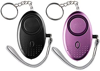Safe Sound 120db Personal Alarm Self Defense Keychain Emergency