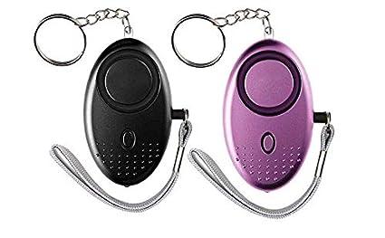 Amazon.com: Llavero de alarma personal SOS de emergencia con ...