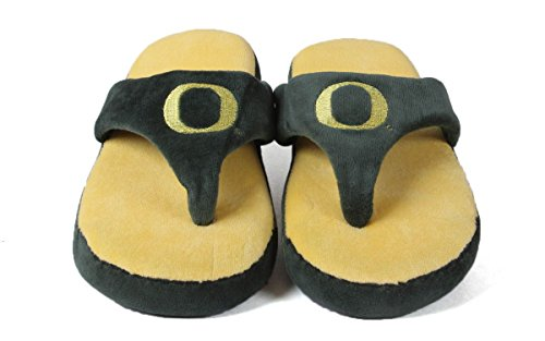 Womens NCAA OFFICIALLY Happy Ducks Flop Mens LICENSED and Oregon College Comfy Feet zCC17w4qx
