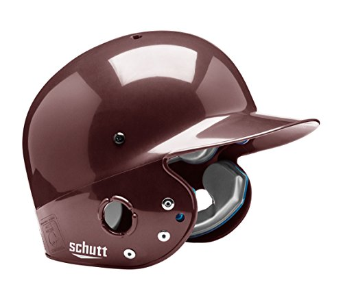 Schutt Sports Junior OSFM 2809 BB AIR PRO MAXX T Batter's Helmet, Maroon ()