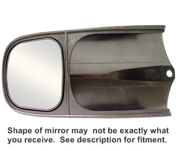 Custom Towing Mirrors for Ford F150,  2004-2014,  Will Not Fit STX or XL Style Mirrors, Set of 2