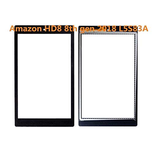 Dexiang for 8 Inch Amazon Kindle Fire HD8 HD 8 8th Gen 2018 L5S83A Touch Screen(no LCD)