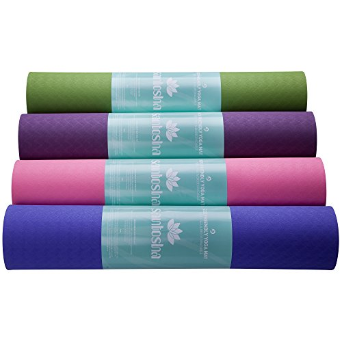 Santosha Yoga Mat (Light Purple)