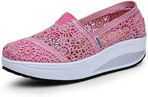626b4148a542b Shopping Wedge - Pink - Loafers & Slip-Ons - Shoes - Women ...