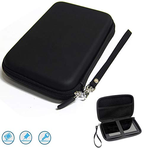 7 Inch GPS Case Hard Carrying Case Portable Travel GPS Bag Storage Pouch Protective GPS Cover for 7