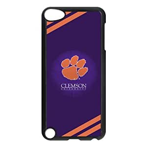 Custom Clemson Tigers Back Cover Case for ipod Touch 5 JNIPOD5-005