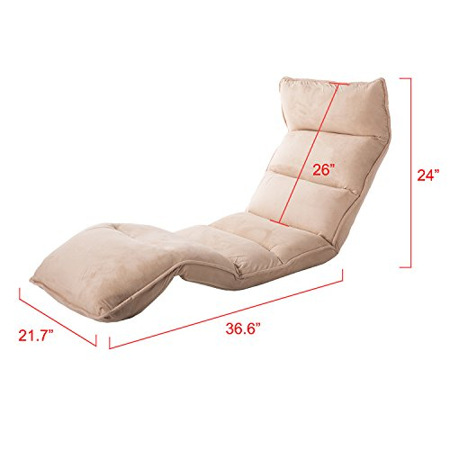 Incredible Merax Foldable Floor Chair Relaxing Lazy Sofa Bed Seat Couch Alphanode Cool Chair Designs And Ideas Alphanodeonline