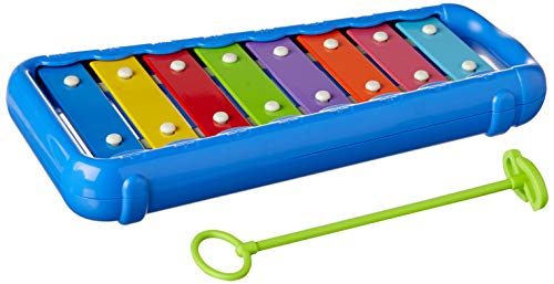 Hohner Kids HMX3008B-Toddler Glockenspiel, 8 Bar (HMX3008B) (Xylophone Hohner)