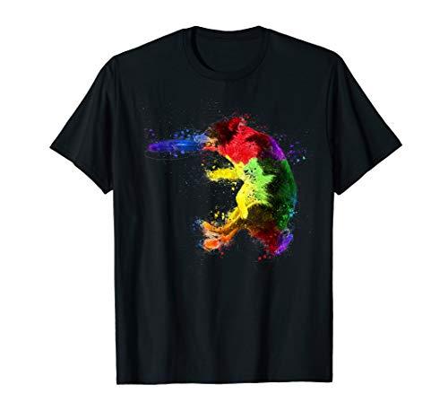 - Border Collie Frisbee Shirt Sheepdog Colorful Shirt Gift