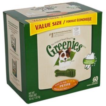 Petite Greenies Dog Dental Chew Treats 18oz 30ct, My Pet Supplies
