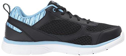 Ryka Damen Delish Tennis-Schuhe Schwarz Blau