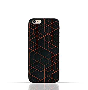 Apple iPhone 7 TPU Silicone Case With Abstract Geometric Pattern Design.