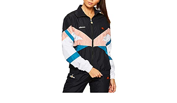 ellesse Women Track Jacket Salizzada, Color:Anthracite, Size ...