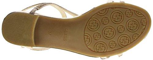 GUESS Jalen3 Sue03 - sandalias con correa Mujer Beige