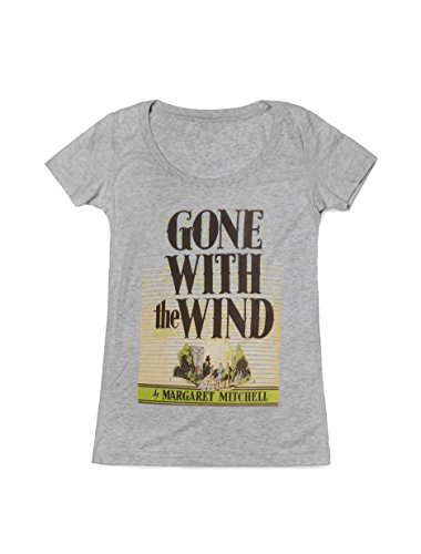 Out of Print Women's Gone with The Wind T-Shirt Small Heather -