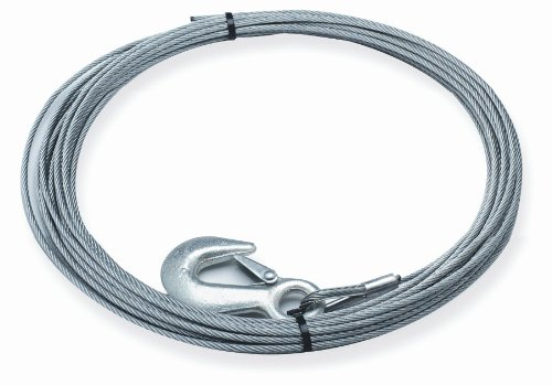 Superwinch 1511C Wire Rope 3/16'' X 60' - replacement wire rope for S3000 and Winch in a Bag