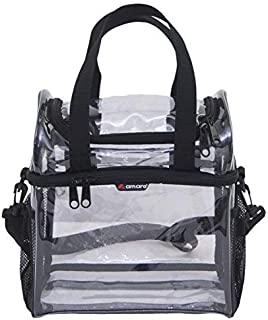 55ac555cd Amazon.com : Planet Made Family Heavy-Duty Clear Backpack, NFL Clear ...