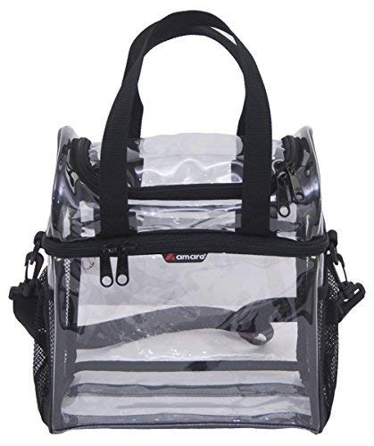 - Amaro Premium Clear High Tower Bag - Double Deck