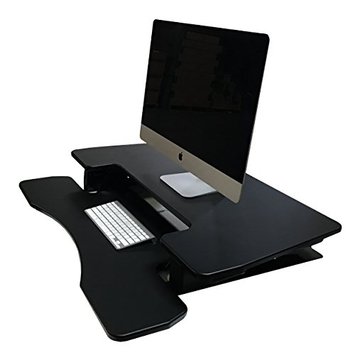 Fancierstudio Riser Desk Standing Desk Extra Wide 38 Fits