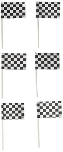 Racing Checkered Flags Cupcake (Racing Cake Decorations)