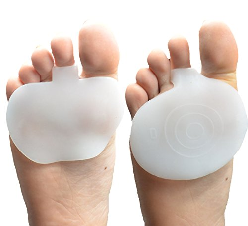Beston Footcare Metatarsal Pads(2 Pairs) Ball of Foot Cushions for women, Metatarsalgia Pads for Mortons Neuroma, All Day Foot Pain Relief.