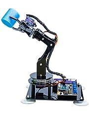 Adeept 5-DOF robotarmkit compatibel met Arduino IDE   DIY robot kit   STEAM robot armkit met OLED-display   verwerking van code en PDF-Tutorial via de download-link