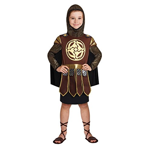 [Totally Ghoul Warrior Prince Costume, Size: Boys Small] (Roman Empire Costumes)