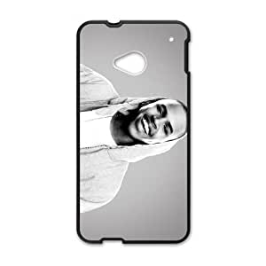 HTC One M7 Cell Phone Case Black Chris Brown