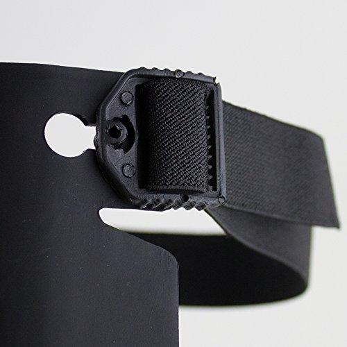 Sellstrom S96211 Knee Pro Hybrid Ultra Flex III Knee Pad Gel Universal, Black/Orange by Sellstrom (Image #4)