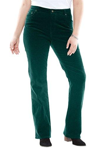Pocket Bootcut Corduroy Pants - 4
