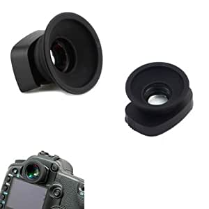 1.36x Viewfinder Magnifier Eyepiece with Eyecup for Canon 7D/ 1D(S) MARKIII/ 1D(S)MARKIV DSLR/SLR Cameras - Black
