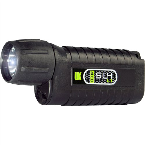 Underwater Kinetics Black Dive Light (Underwater Kinetics SL4 eLED (L1) UV-395 Waterproof Dive Light, Black)