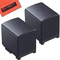 BM Premium 2-Pack of BP-820 Batteries for Canon VIXIA HFG10, HFG20, HFG30, HFG40, HFM30, HFM31, HFM32, HFM300, HFM301, HFM40, HFM41, HFM400, HF200, HG20, HG21, XA10, XA20, XA25, XA30, XA35 Camcorder