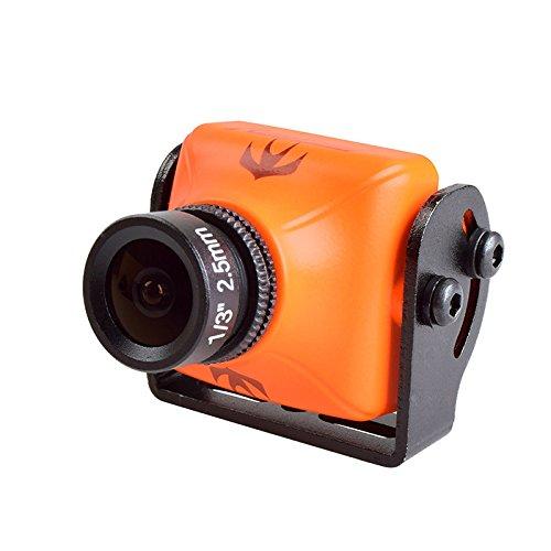 RunCam Swift 2 (Noir et Orange, Lens 2.1mm/2.3mm/2.5mm) FPV Camera