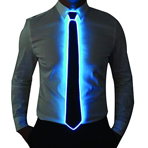 Led Light Up Neckties in US - 3