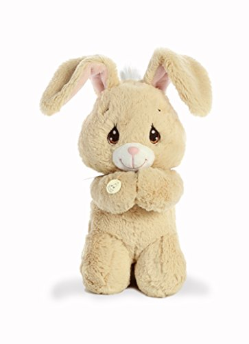 Aurora World Precious Moments Musical Plush Toy Animal, Floppy Prayer Bunny, 10