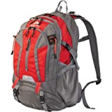 36L Kachemak Daypack Hiking Backpack, Red For Sale